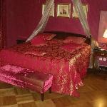 Deluxe corner Bedroom at Europa Royale.