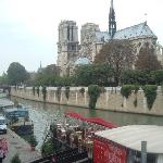 Notre Dame - just down the street