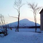 the hotel is next to Mount Chokai