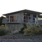 the apartment from seashore (upper floor)