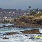 La Jolla Cove, just 3 or 4 blocks