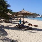 Beach by hotel (1)