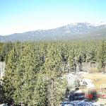 View of mountains from room 1223