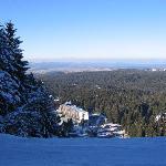 Hotel Rila from slopes