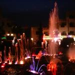 the fountains in port el kantaoui