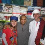 in a shop down el-souk