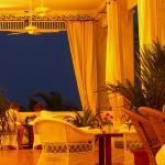 Sunset on the verandah