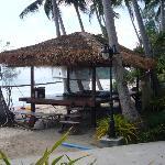 The outdoor massage sala