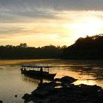 Sunrise on the Tambopata
