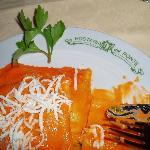 Dinner at Hosteria del Ponte near Civita