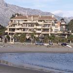 Puerto Banus by the beach