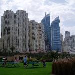 Marina developments behind the hotel
