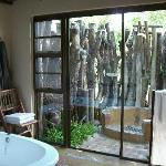 Bathroom and outdoor shower