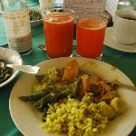 An Ayurveda Meal