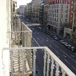 view from room 206