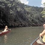 Paddling downstream to San Ignacio