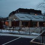 Meadowbrook Inn in the snow