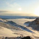 Ice Field and Glacier