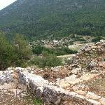 The site of Sami Acropolis, now just a pile of huge rocks