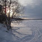 The lake at Jeris