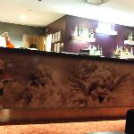 The Star Lounge bar at night