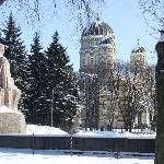 The Park/Russian Ortodox Cathedral 5 mins walk from the hotel