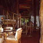 dining room/lodge area