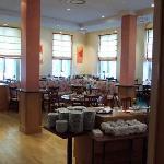 The attached Augustus restaurant