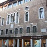 Fachada Palazzo del Selvadego