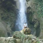 Water falls near Luang Prabang