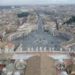 View from top of St Peters