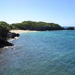 lil beach from restaurant