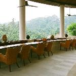 Bar overlooking the valley