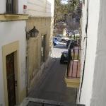 View towards Plaza Mamelon