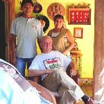 Bill, Chucho and Malena