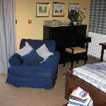 The piano in Room 8