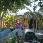 Courtyard at Casa Leree