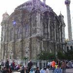 The beautiful Mosque in Ortakay
