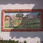Tile Art at the Mission Entrance