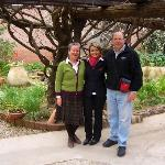 WanderingFungi with Silvia (in middle) at the Lucrezia Hotel
