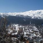 View from Chalet Balcony