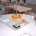 tempura shrimp appetizer @ beach club