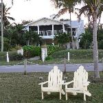 Front of Inn (and perfect spot for pelican watching)