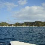 Grand Anse Bay from Shadowfax