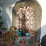 Fountain on the patio