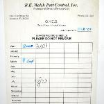 pest control certificate