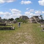 view of the ruins of Mayapan