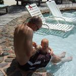Baby pool/ BEST Sunbathing spot!