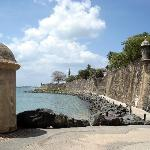 View from San Juan Gate toward El Morro