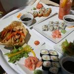Sushi & Drinks on the Beach